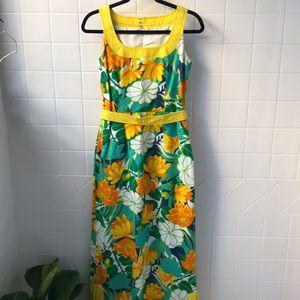 Vintage maxi summer dress